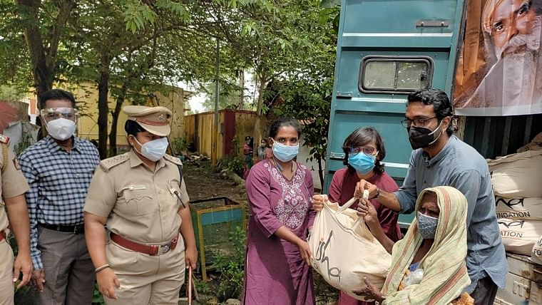 With 75 days of community work, Sadhguru's Isha helps most vulnerable in fighting the Covid-19 pandemic