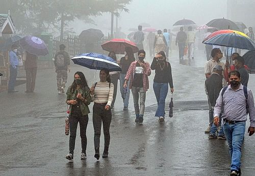 Heavy rain likely over north, east India: IMD