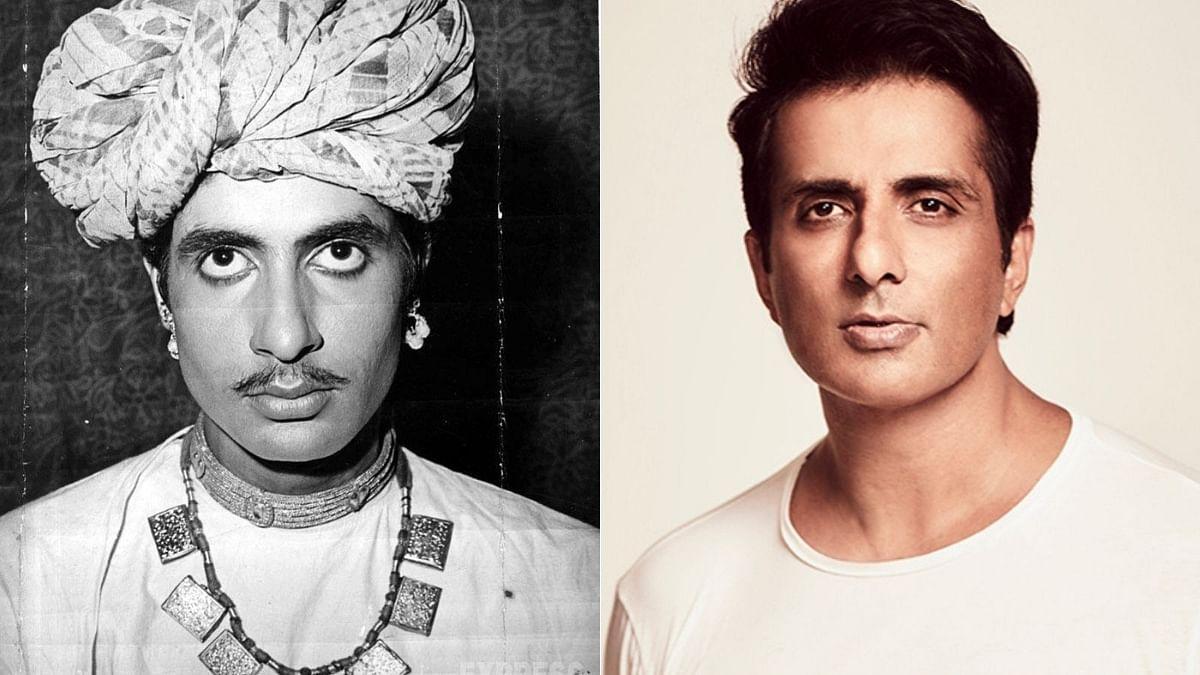 Amitabh Bachchan shares pic from 'Reshma Aur Shera' look test; fans say 'aap toh Sonu Sood lag rahe'
