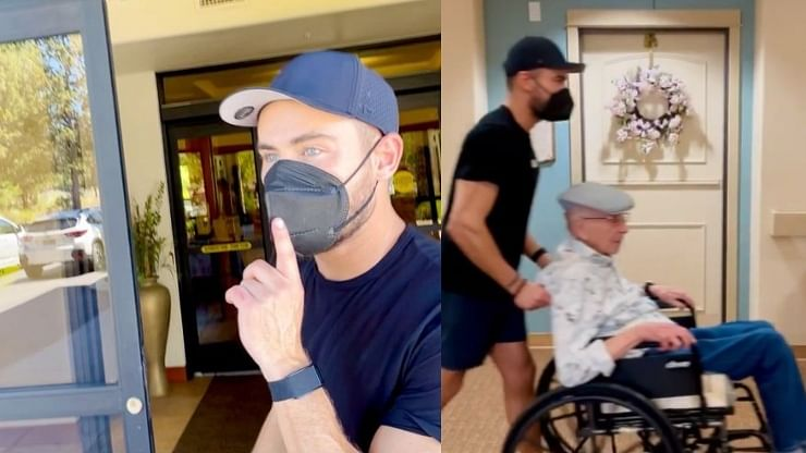 Zac Efron, brother Dylan 'bust' grandpa out of nursing home for some fun; adorable video wins hearts on the internet