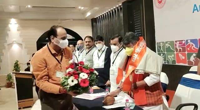 Jabalpur: Ramesh Mendola elected president of Madhya Pradesh Olympic Association for fourth consecutive time