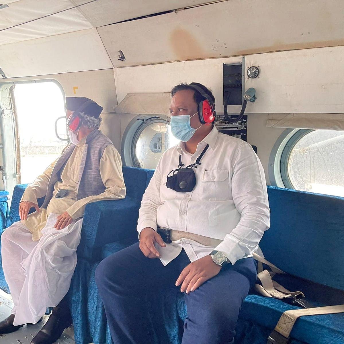 Guv BS Koshyari criticised for taking suspended BJP MLA Ashish Shelar along for official tour of flood-hit Raigad, Ratnagiri