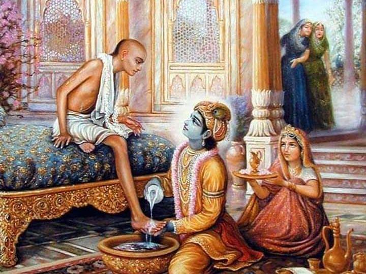 Guiding Light: Krishna & Sudama's eternal friendship