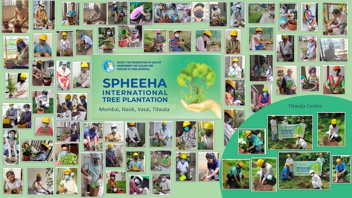 SPHEEHA celebrates its 15th Year by planting 15000+ saplings