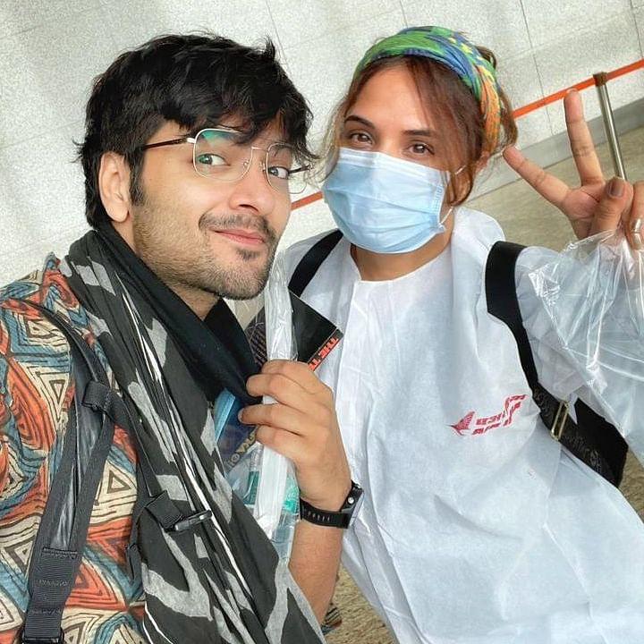 Richa Chadha, Ali Fazal shoot teaser of their maiden production 'Girls Will be Girls' in Dehradun