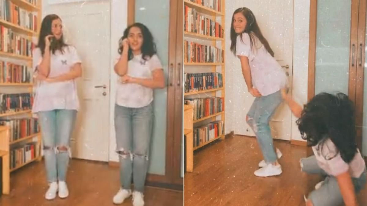 Watch: Dia Mirza twins and dances with stepdaughter Samaira, days after announcing son's birth