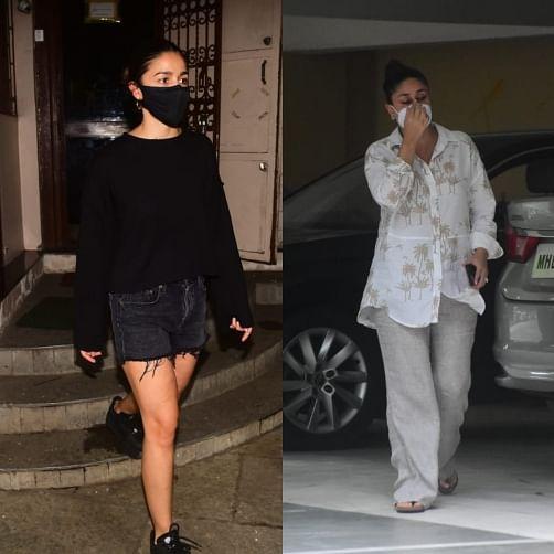Paparazzi Files: Kareena Kapoor, Alia Bhatt, Kriti Sanon and other Bollywood stars spotted in Mumbai