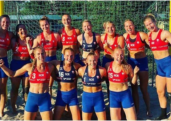 Norway's handball team took a stand