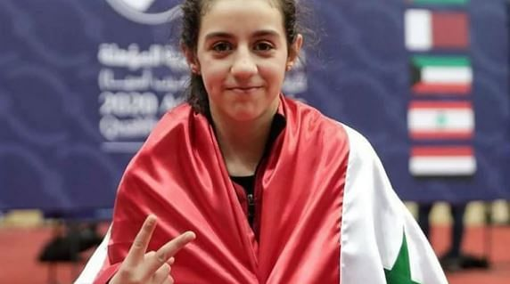 Champion from the war-ravaged Syria; Hend Zaza is the youngest competitor at the Tokyo Games, since the 1968 Winter Olympics