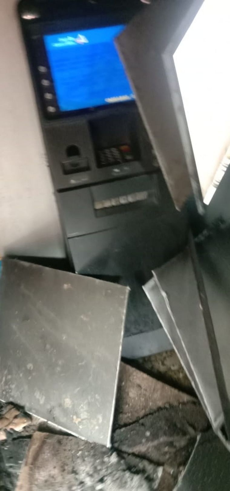 Bhayander: Fire at ATM kiosk, cash worth Rs 22 lakh intact