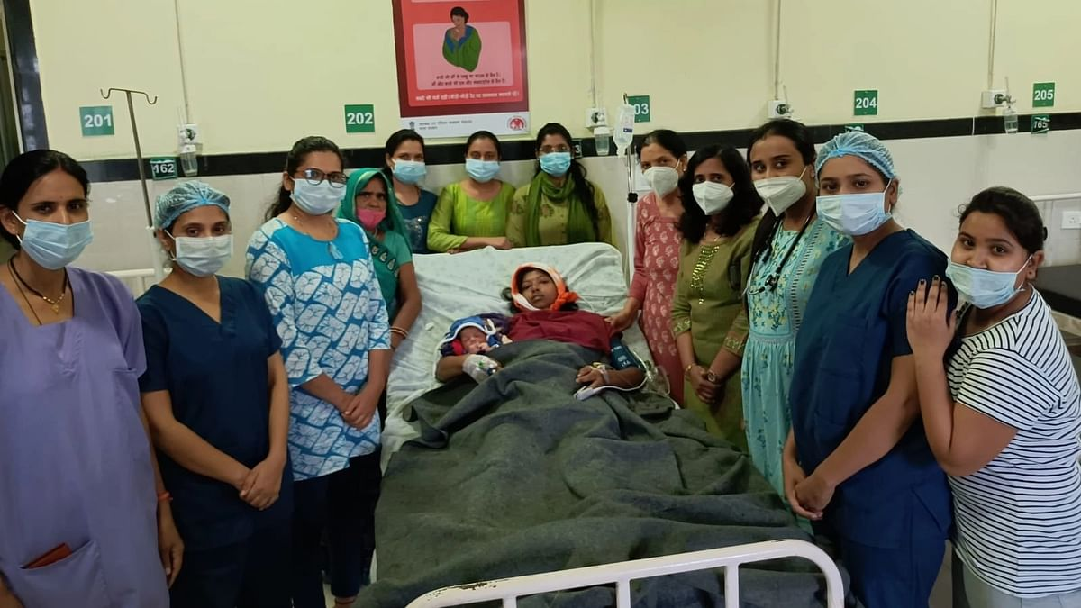 Indore: Doctors at Government PC Sethi Hospital save 22-year-woman from postpartum haemorrhage