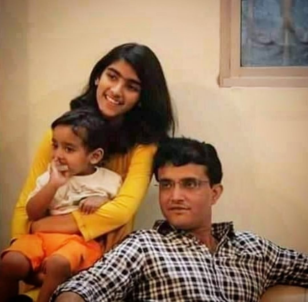 Sourav Ganguly close to his daughter always