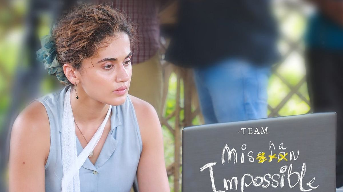 Taapsee Pannu to star in Telugu film 'Mishan Impossible'; see first look