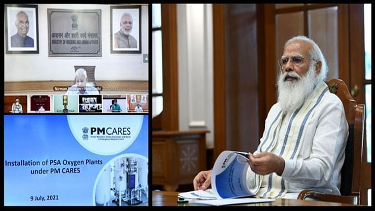 High-level meeting on medical oxygen chaired by PM Modi clears way for over 1500 PSA O2 plants