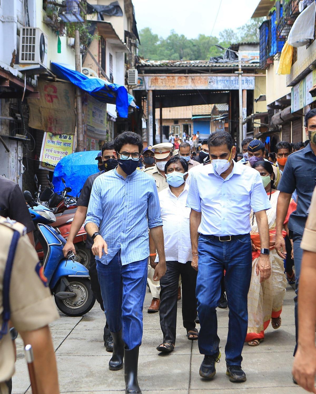 Mumbai: Maharashtra Minister Aaditya Thackeray visits landslide-hit areas, says 'necessary assistance is being provided'