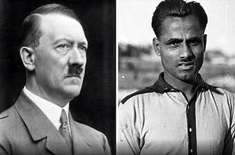 Dhyan Chand's Berlin Saga; Captaincy test in Nazi Germany, Dhyan Chand never met Adolf Hitler in person