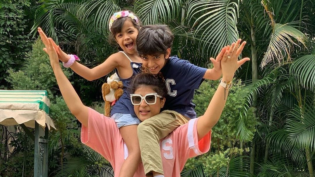 'This is just a trailer': Tahira Kashyap shares hilarious WhatsApp chats with her kids Virajveer and Varushka