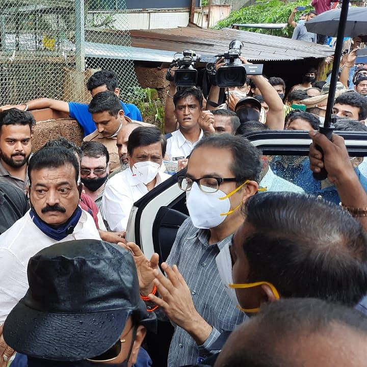 Maharashtra CM Uddhav Thackeray reaches Chiplun, speaks to citizens affected by floods