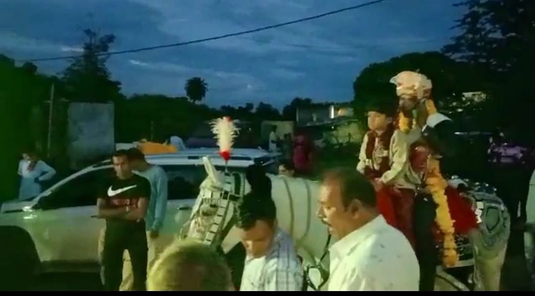 Mhow: Dalit youth's wedding procession stopped by village strongmen, prevented from visiting temple