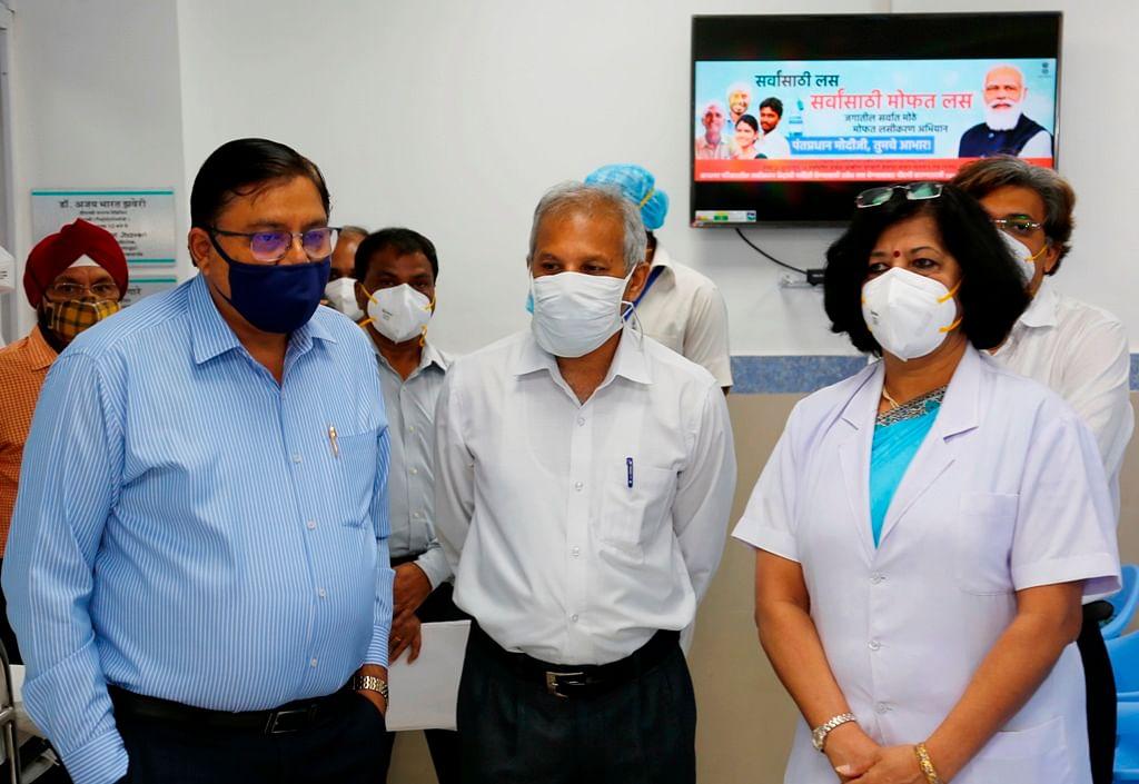 Alok Kansal, General Manager, Central Railway inspects Bharat Ratna Dr. Babasaheb Ambedkar Memorial Railway Hospital, Byculla