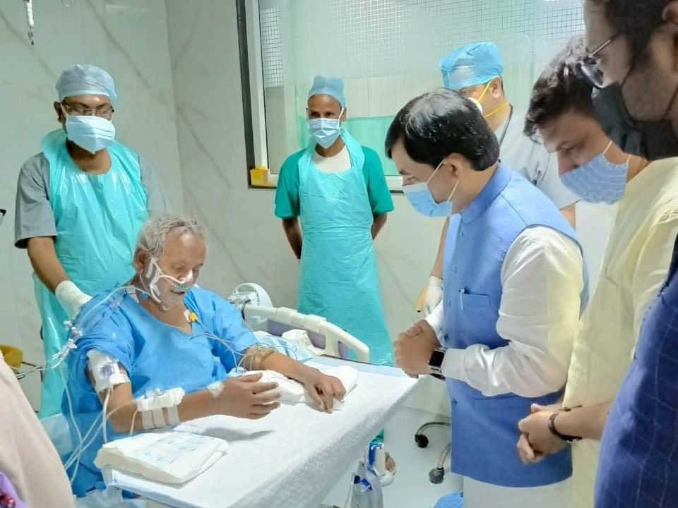Former UP CM Kalyan Singh put on life support; health condition 'critical'