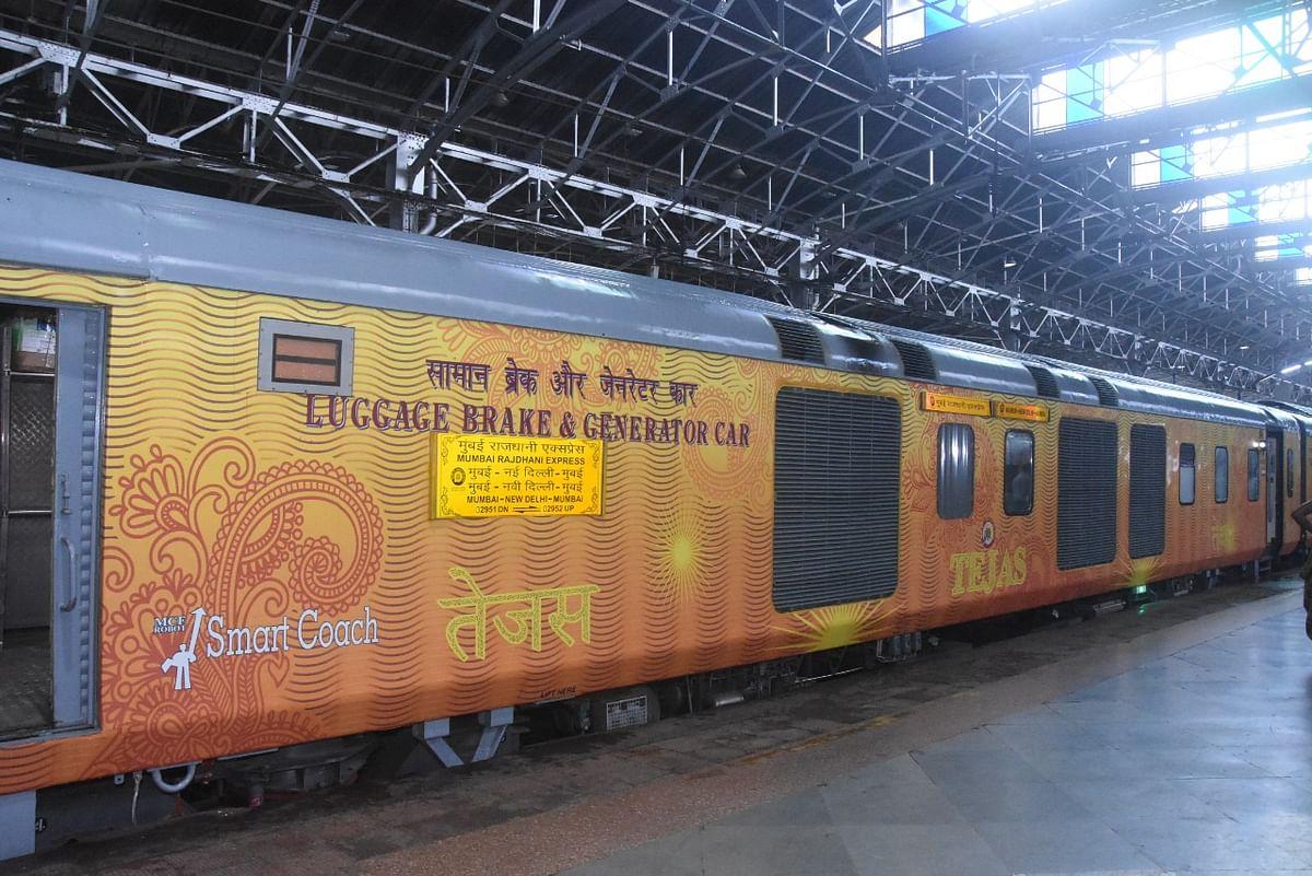 Commute by Mumbai- Delhi Rajdhani Express now 5% costlier as train gets Tejas Smart coaches; See pics