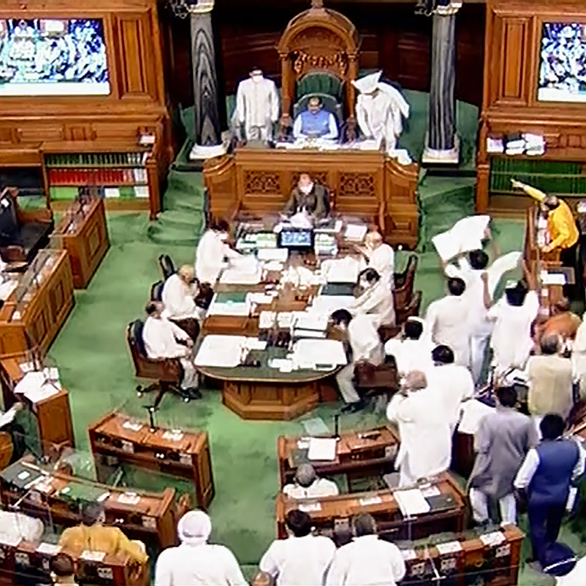 Parliament Monsoon Session Live Updates: Two Congress MPs give adjournment motion notice in Lok Sabha over Pegasus issue