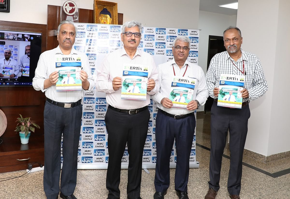 CMD, NHPC releases special issue of 'Enertia' Journal dedicated to Late Yogendra Prasad, former CMD, NHPC, NHDC and SJVNL