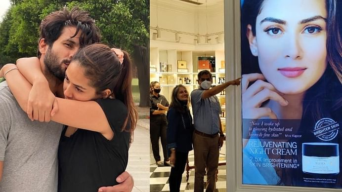 'Thank your husband Shahid': Mira Kapoor brutally trolled for sharing pic of her poster with 'gratitude' note for parents