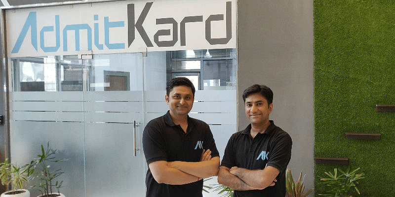 Rachit Agrawal (left), Co Founder; and Piyush Bhartiya, Founder and CEO, AdmitKard