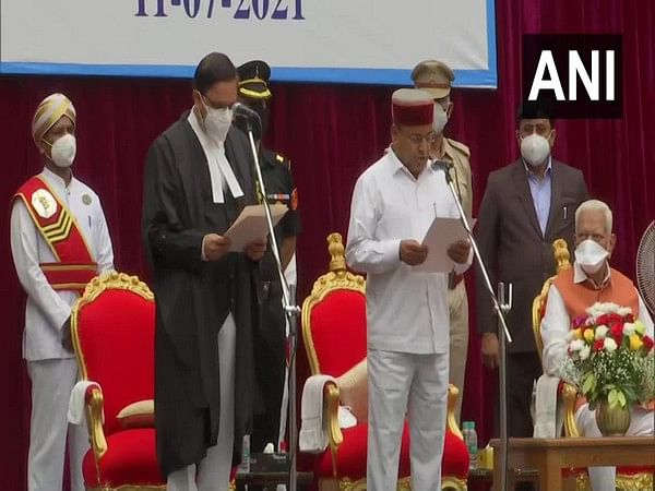 Thawarchand Gehlot took oath as new Governor of Karnataka in Bengaluru on Sunday