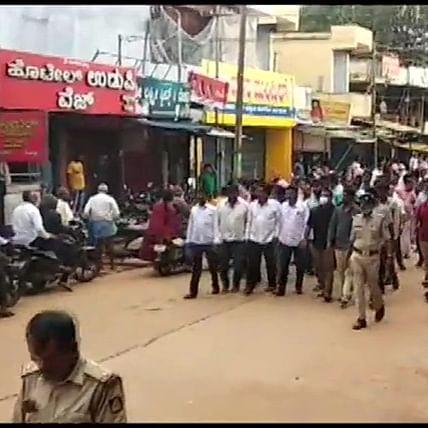 BS Yediyurappa's supporters shut down shops in Shivamogga following his resignation
