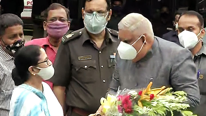 'Blot on democracy': TMC slams BJP over ruckus in Assembly during Guv Jagdeep Dhankhar's address