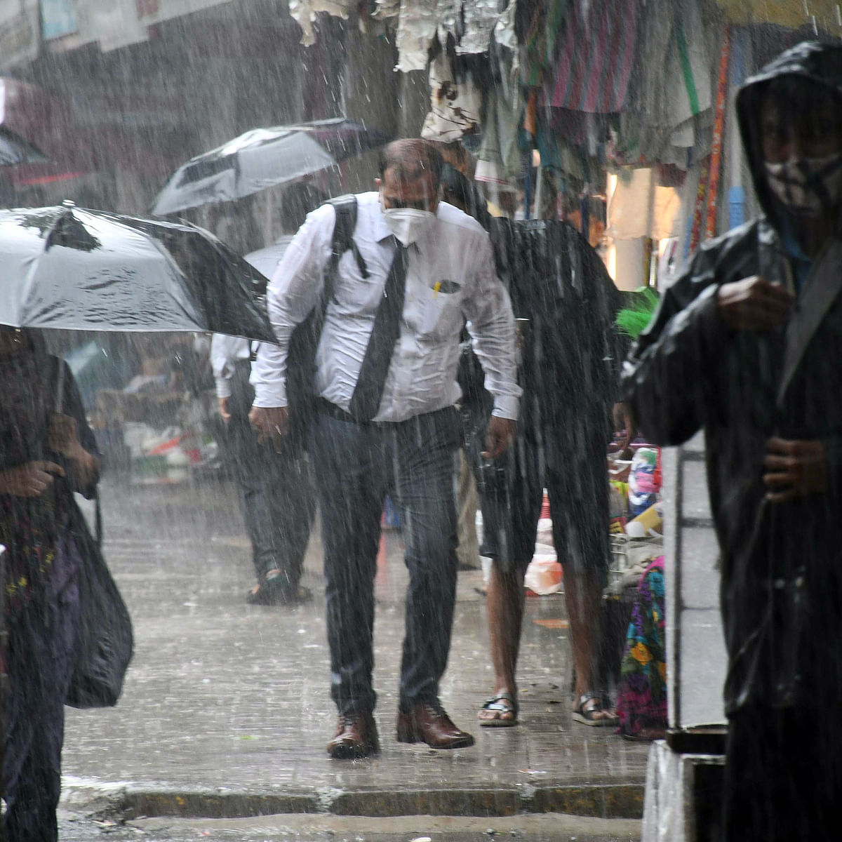 Mumbai weather update: IMD predicts moderate rainfall with possibility of heavy spells at isolated places