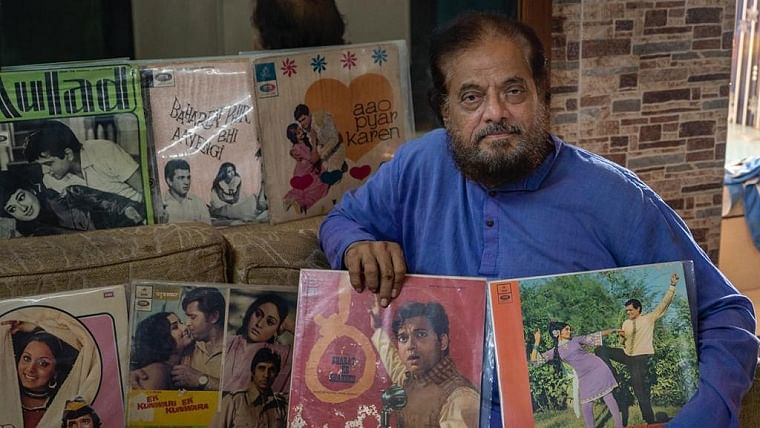 Salim Sheikh with his collection