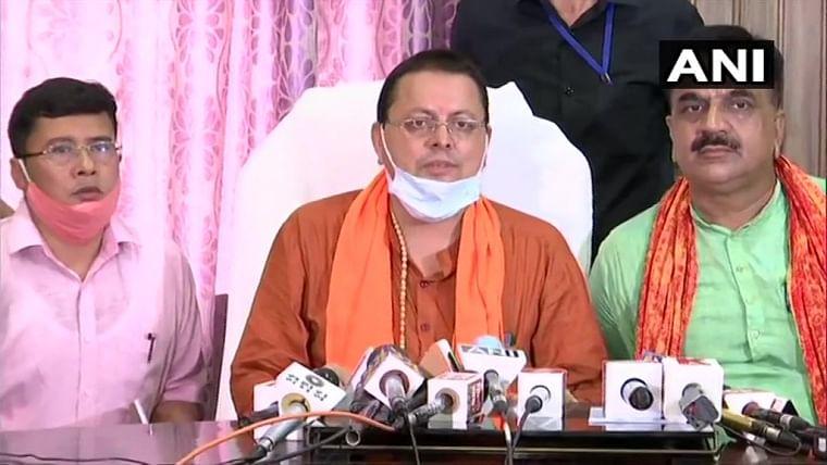 'BJP has always kept me under its wings, just like my mother': Pushkar Singh Dhami ahead of taking oath as Uttarakhand CM