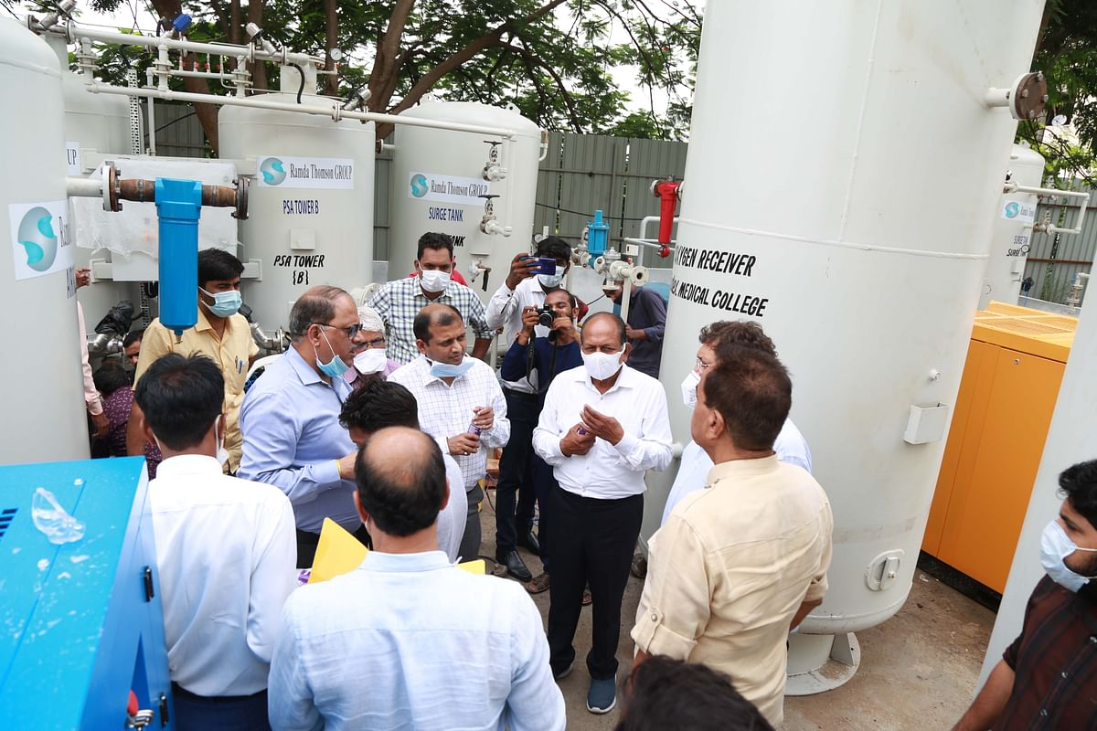 Indore: 15 of 41 oxygen plants now functional in the city