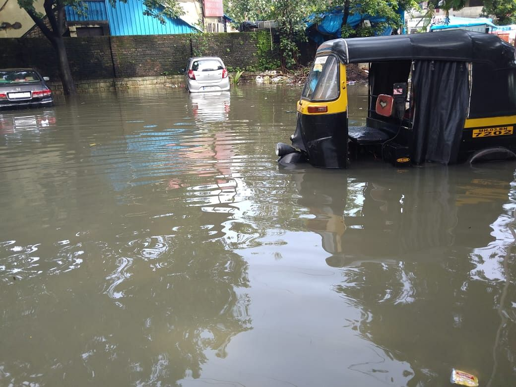 Mumbai: Auto rickshaws and taxis spend a busy day in repairs