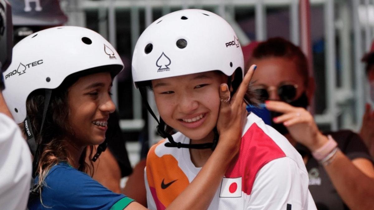 Tokyo Olympics 2020: 13-year-olds Momiji Nishiya and Rayssa Leal win laurels in skateboarding; netizens say 'history made'