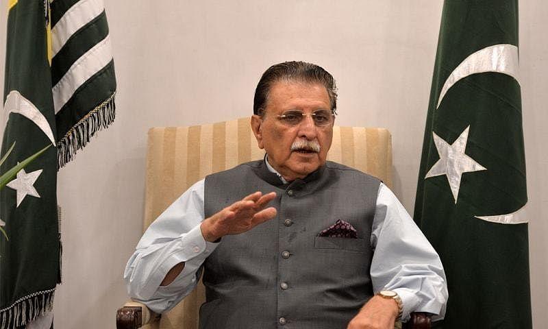 PoK PM Raja Farooq Haider
