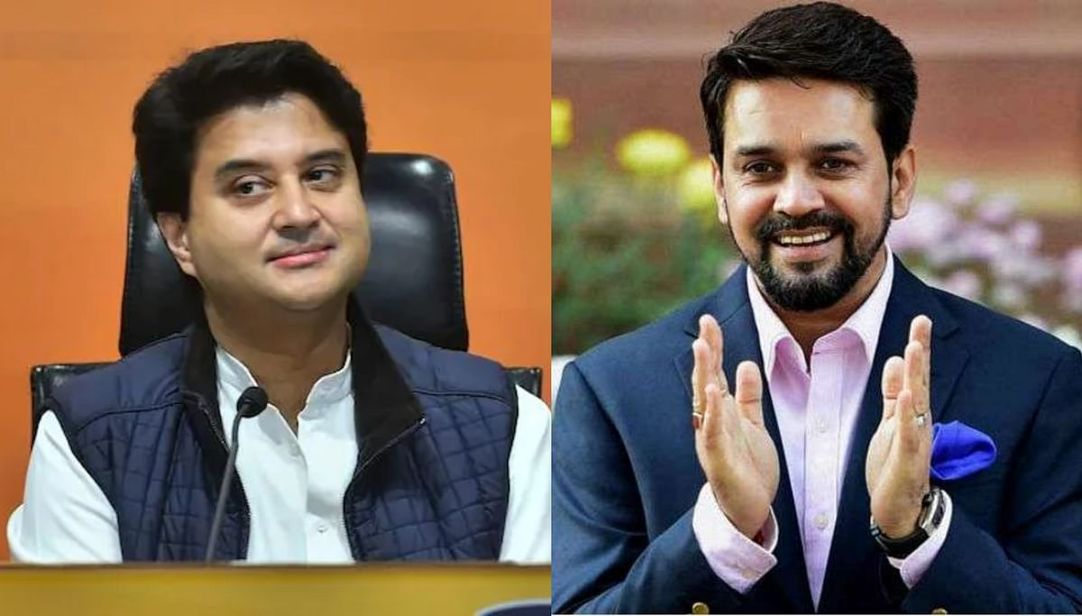 Union Cabinet expansion: From Jyotiraditya Scindia to Anurag Thakur, here's full list of 43 ministers to take oath today