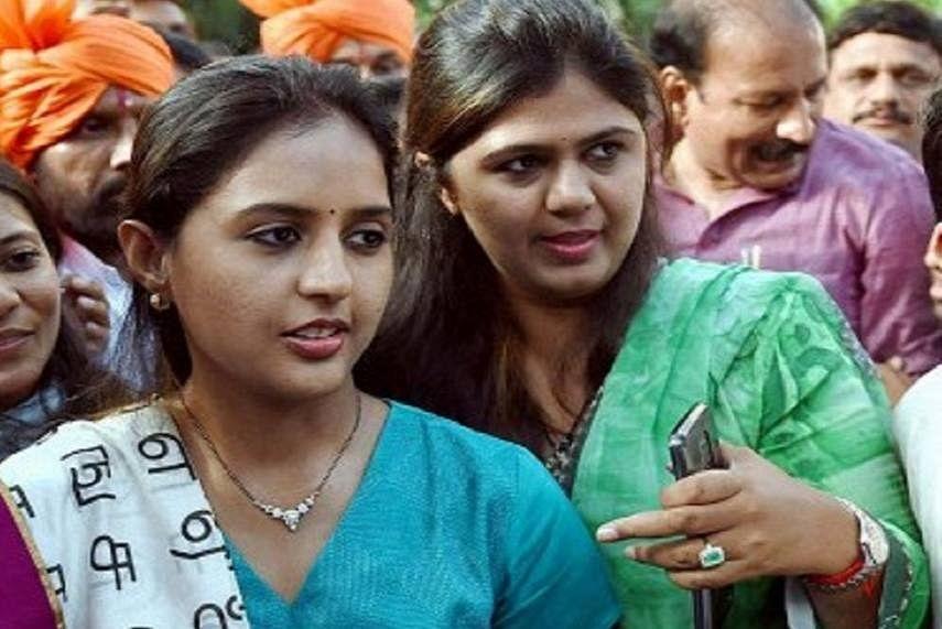 Pankaja Munde in Delhi to meet BJP president JP Nadda