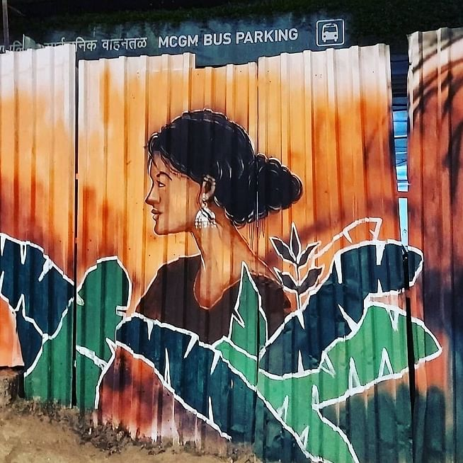 The Hungry Happy Hippy: Rediscovering a whole new world in Mumbai's murals