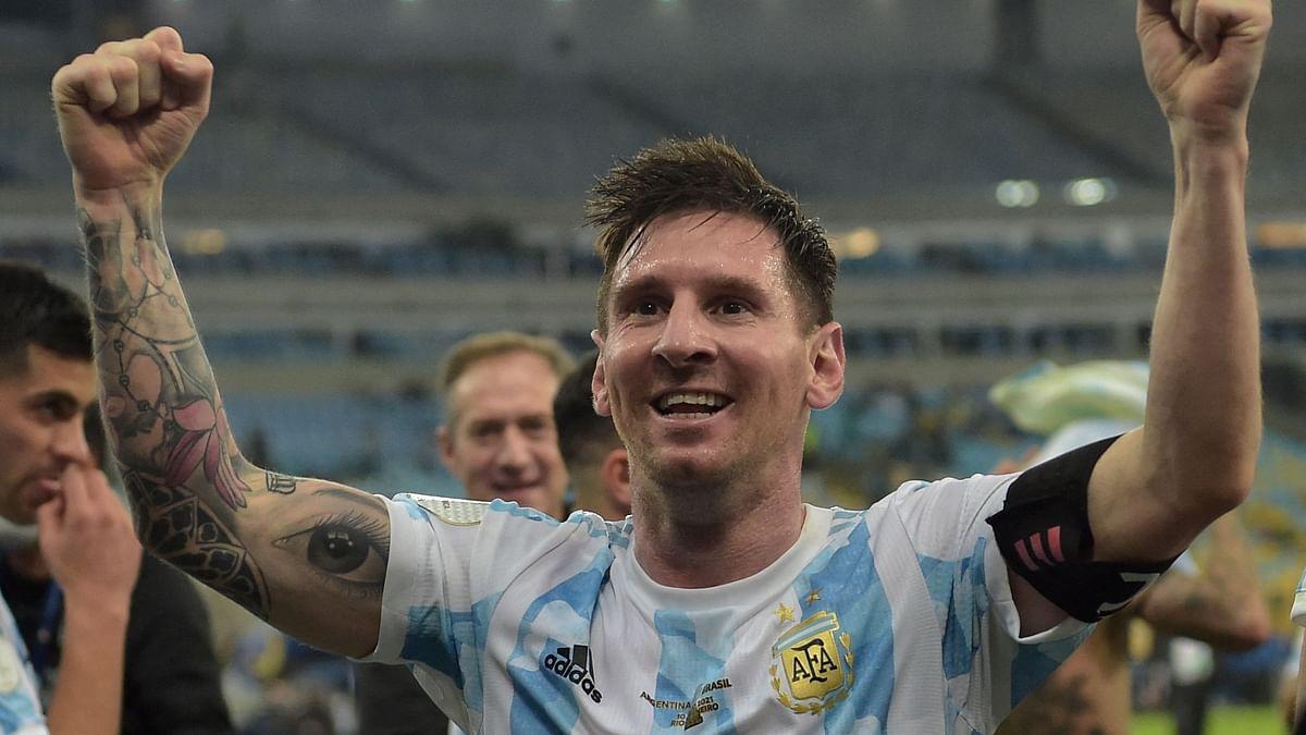 Copa America: Lionel Messi dedicates win to Argentinians and Diego Maradona