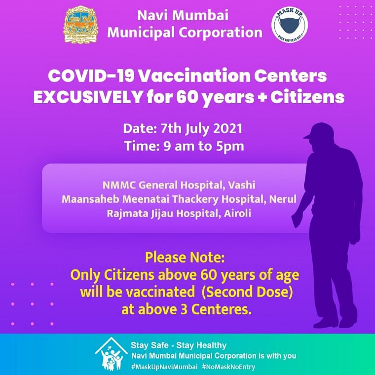 Navi Mumbai: Full list of COVID-19 vaccination centres issued by NMMC for July 7