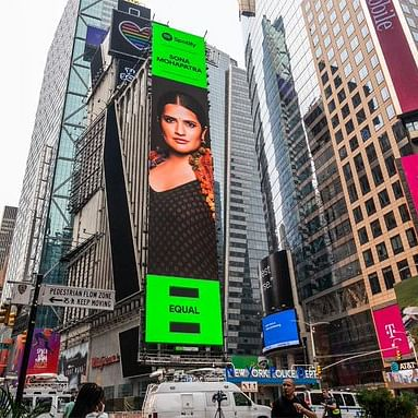 Sona Mohapatra first Indian independent musician to make it to Times Square billboard