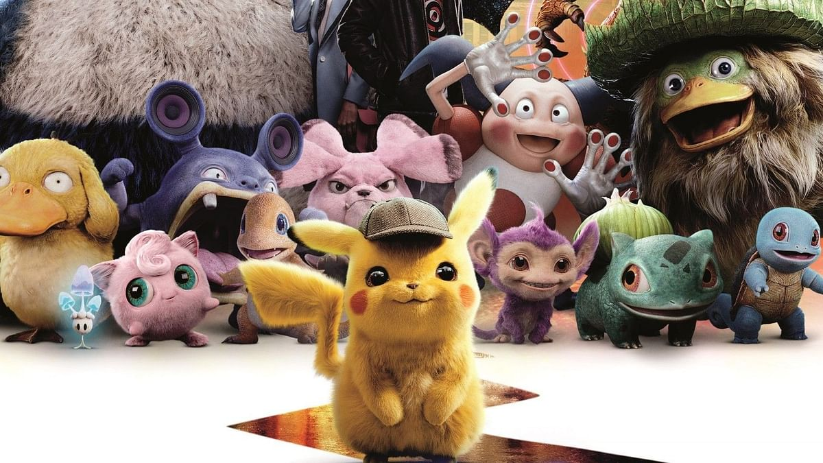 A still from 'Detective Pikachu'