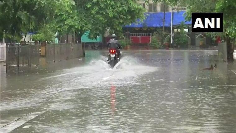 Mumbai weather update: Waterlogging in some parts as heavy rains lash city