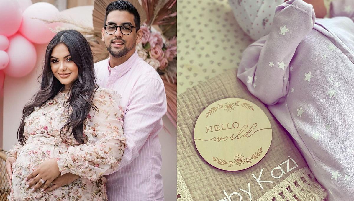 'Harry Potter' actress Afshan Azad welcomes baby girl with husband Nabil Kazi