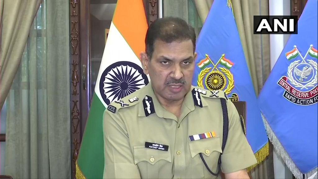 Assam-Mizoram border tension: Current situation is peaceful, says DG CRPF Kuldiep Singh